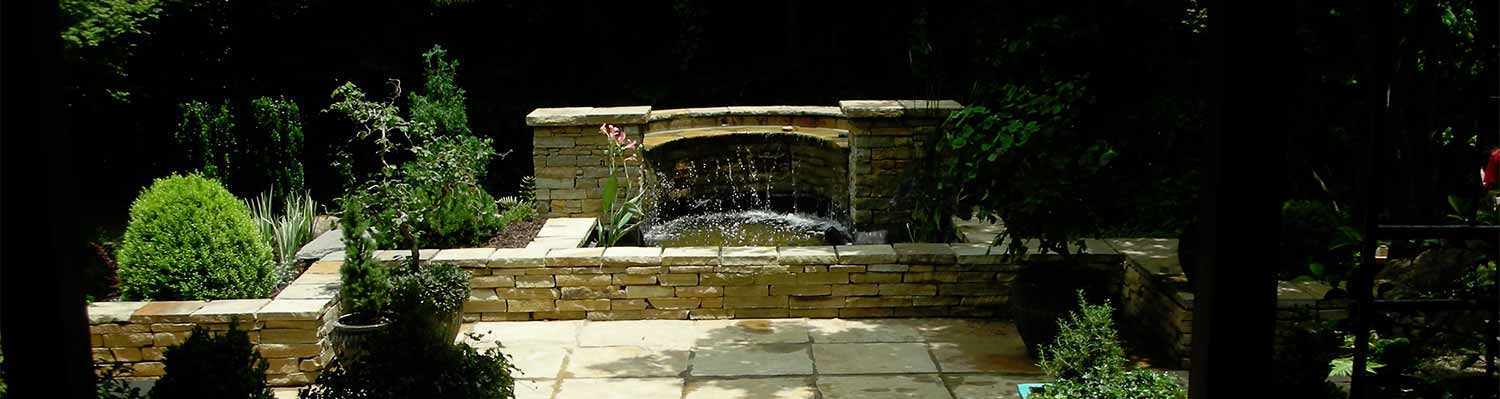 Beautiful Custom Designed Water Feature