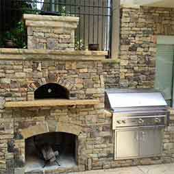 Authentic Outdoor Pizza Oven Atlanta Georgia