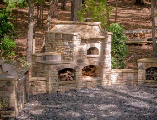 Full Outdoor Kitchen Design  Suwanee Georgia