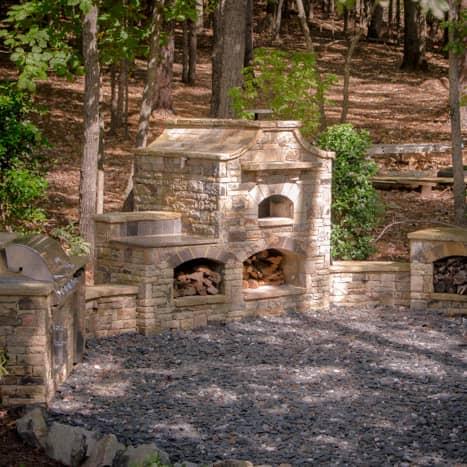 Atlanta Outdoor Kitchens Design in Suanee