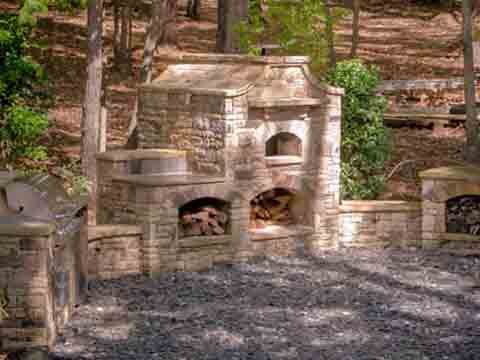 Residential Stonescaping Roswell Georgia