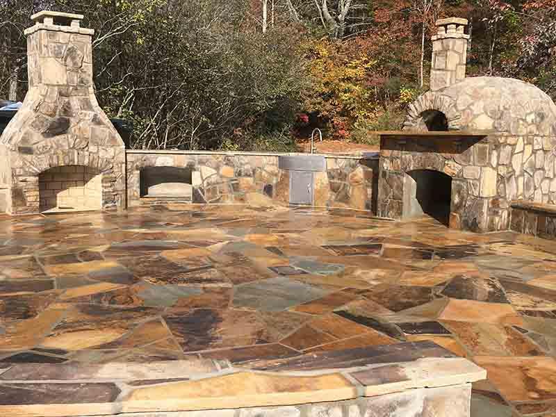 Atlanta Outdoor Kitchens & Stone Masonry at Camp Ramah Darom